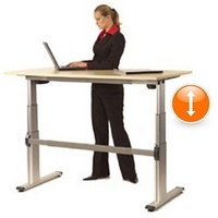 Manual 1 Ergo Sit-To-Stand Desk