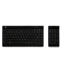 WIRELESS ERGOTIGHT KEYBOARD AND NUMERIC PAD BUNDLE