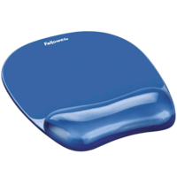 Fellowes Mouse Pad and Wrist Rest - Gel Crystal