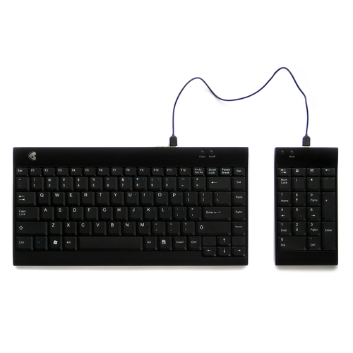 Ergotight Wired Keyboard and Numeric Pad Bundle