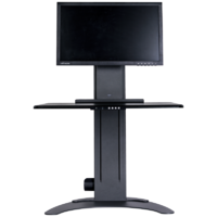 Altizen Single Monitor Sit Stand Desk