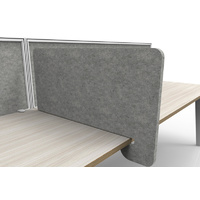 Cove Acoustic Desk Divider
