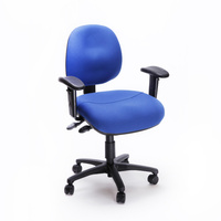 DUO 210S Med-Back Short Seat with Arms