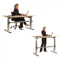 Electric 2 Sit-To-Stand Desk