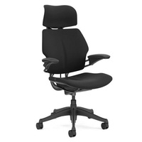 Freedom Headrest Black Fabric